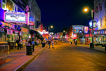 Night on Beale Street Blues Music Memphis Tennessee TN