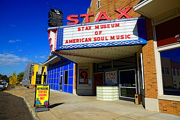 Stax Museum Soul Music Memphis Tennessee TN