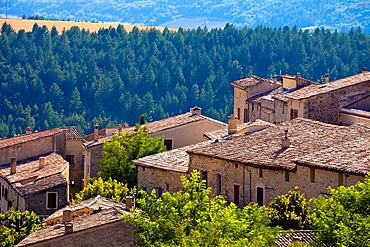 Medieval town of Aurel, Vaucluse, Provence, France