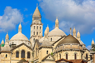 Perigueux, Saint Front Cathedral, Pilgrimage way to Santiago de Compostela, UNESCO World Heritage site, Perigord Blanc, Dordogne, Aquitaine, France, Europe