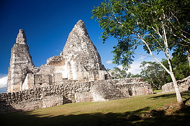 Archeological site Xpuhil, Peninsula Yucatan, Mexico