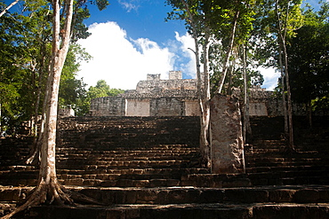 Archeological site Calakmul, Yucatan Peninsula, Mexico