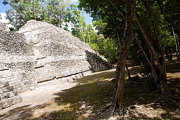 Archeological site Balamku, Yucatan Peninsula, Campeche, Mexico
