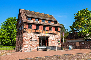 Museum for Baron Muenchhausen in Bodenwerder on the German Fairy Tale Route, Lower Saxony, Germany, Europe