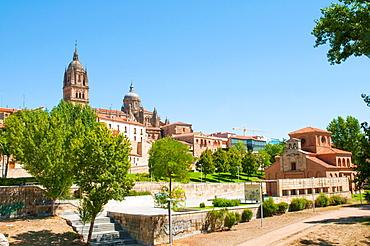 View of the city. Salamanca, Castilla Leon, Spain.
