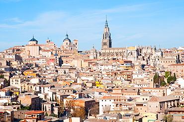 Overview. Toledo, Castilla La Mancha, Spain.