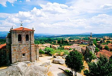 Overview. Hacinas, Burgos province, Castilla Leon, Spain.