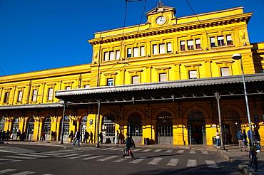 Central railway station Piazza Dante square Modena city Emilia-Romagna region central Italy Europe