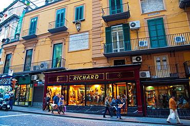 Via Toledo street central Naples city La Campania region southern Italy Europe