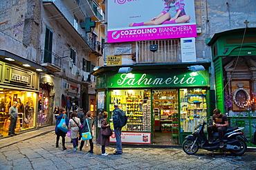 Quartieri Spagnoli district central Naples city La Campania region southern Italy Europe