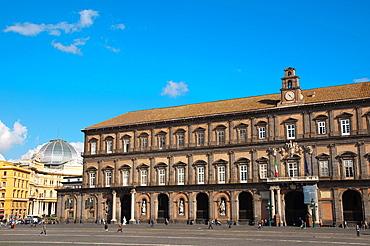 Palazzo Reale at Piazza del Plebiscito square Santa Lucia district central Naples city La Campania region southern Italy Europe