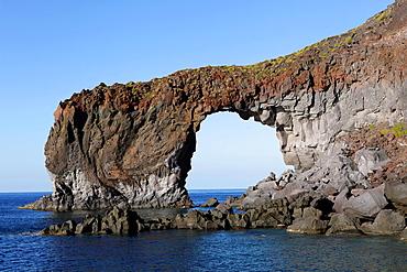 Punta Perciato at Salina island, Aeolian Islands, Sicily, Italy