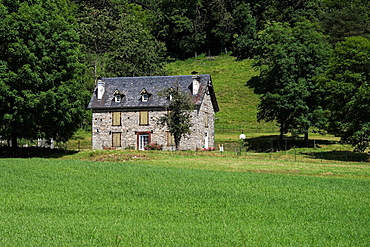 A house in Pyrenees National Park in France