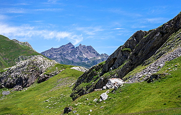 Pyrenees in Pyrenees-Atlantique department of France