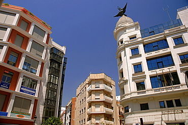 Urban view, Huelva, Spain