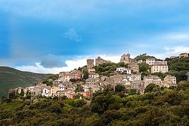 Europe, France, Haute Corse 2B, Cap Corse Rogliano village