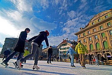 Bern, Switzerland, Bundesplatz Confederation Plaza