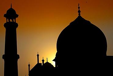 Taj Mahal mausoleum Agra Uttar Pradesh India