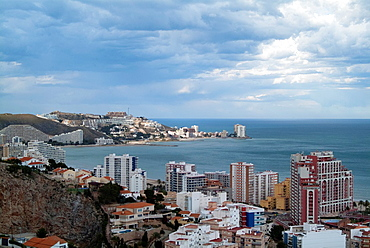 Panoramic Cullera, Valencia, Spain, Europe