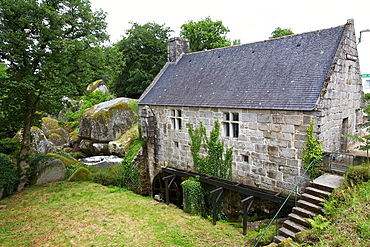 chaos of the mill, commune of huelgoat Finistere, Brittany, France
