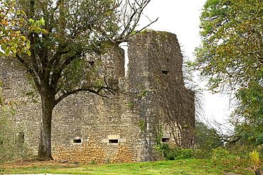 Machecoul castle, Loire Atlantique, Pays de la Loire, France