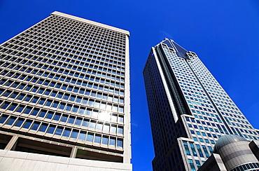 Canada, Quebec, Montreal, downtown, skyscrapers, 1000 de la Gauchetiere,