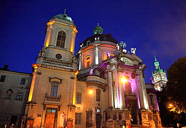 Ukraine, Lviv, Dominican Cathedral,