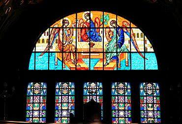 Romania, Sibiu, Metropolitan Cathedral, interior,