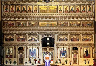 Romania, Targu Mures, Orthodox Cathedral, interior,