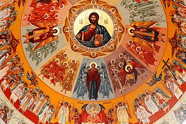 Romania, Targu Mures, Greco-Catholic Cathedral, interior,