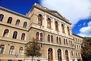 Romania, Cluj-Napoca, Babes-Bolyai University, Main Building,