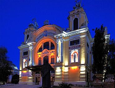 Romania, Cluj-Napoca, National Theatre,