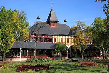 Serbia, Vojvodina, Palic, Grand Terrace, historic architecture,