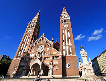 Hungary, Szeged, Votive Church, Cathedral,