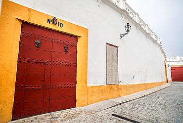 Sevilla, Andalucia, Spain Plaza De Toros La Maestranza