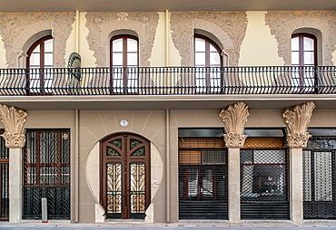 Tortosa, Catalonia, Spain Artistic Facade