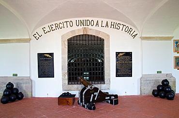 Real Felipe fort in Lima city, Peru