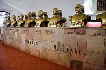 Real Felipe fort in Lima city, Peru, Peruvian heroes gallery