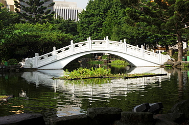 Bridge at Great Theatre and National Concert Hall, Taipei, Taiwan
