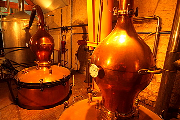 Moutard-Diligent distillery, Buxeuil, Aube department, Champagne-Ardenne region, France, Europe