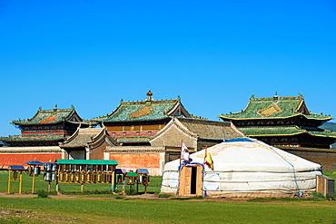 Mongolia, Ovorkhangai, Kharkhorin, Erdene Zuu Monastery, Orkhon valley, Unesco world heritage