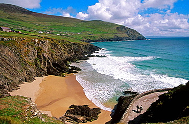 Slea Head, Cumeenoole Strand, Ring of Kerry, Co, Kerry, Ireland.