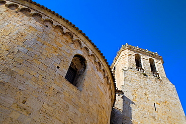 Sant Pere¥s church of Benedictine Monastery,Besalu, La Garrotxa, Girona, Spain