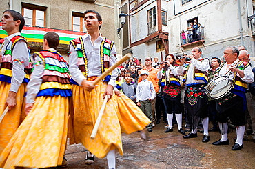 Danza de los Zancos¥ folk dance,without stilts,Anguiano, La Rioja, Spain