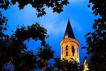 Vielha  Sant Miqueu church,Aran Valley,Pyrenees, Lleida province, Catalonia, Spain