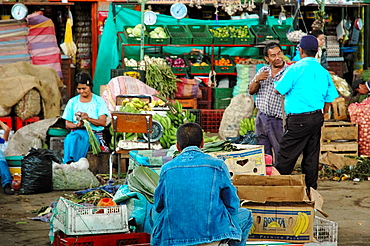 Vegetables Market, Colombia, South America