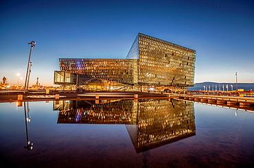 Harpa Concert Hall and Conference Center, Reykjavik, Iceland