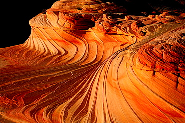 The Wave, Coyote Buttes North, Vermilion Cliffs, Colorado Plateau, Arizona