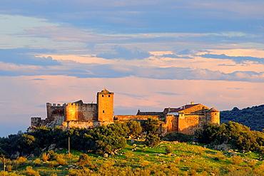 Castle of La Encomienda Villanueva de La Serena Badajoz province Extremadura Spain