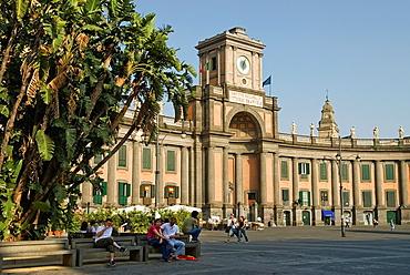 Piazza Dante, Naples, Campania region, southern Italy, Europe